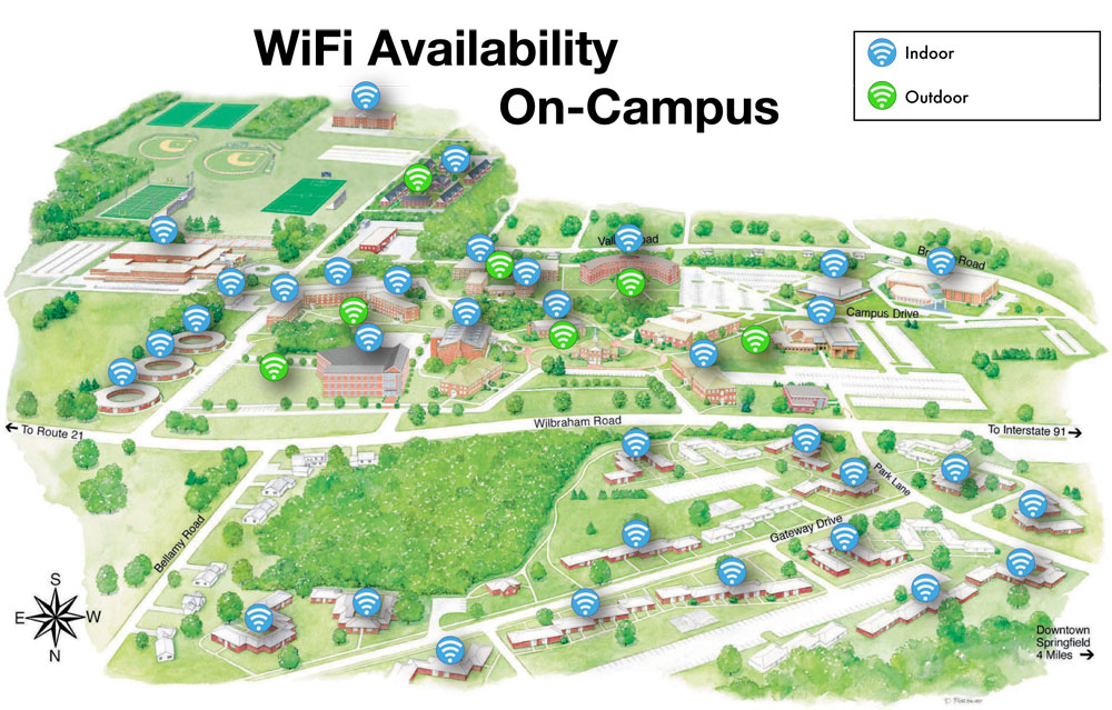 Campus Wireless Network Wiring Diagrams