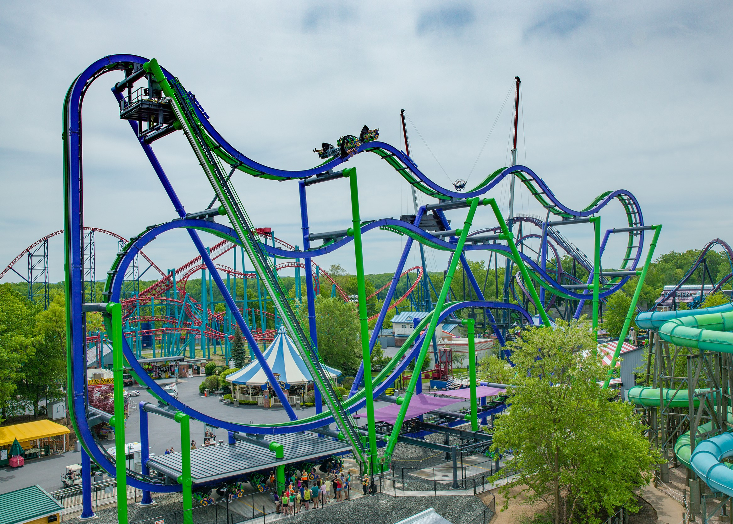 Family Fun At Six Flags New England August 4